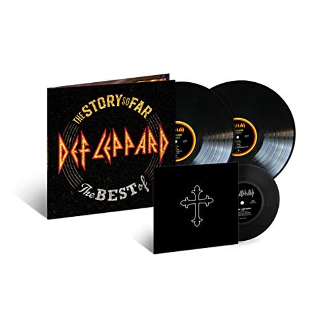 Def Leppard STORY SO FAR Vinyl Record
