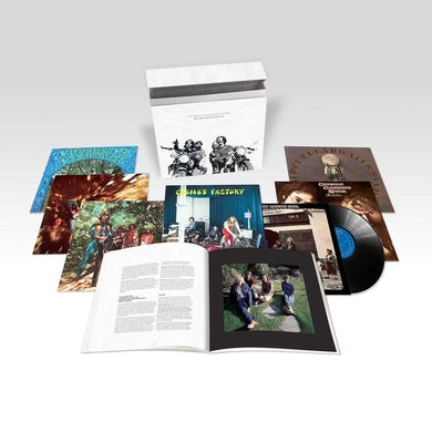 Creedence Clearwater Revival STUDIO ALBUMS COLLECTION Vinyl Record Box Set