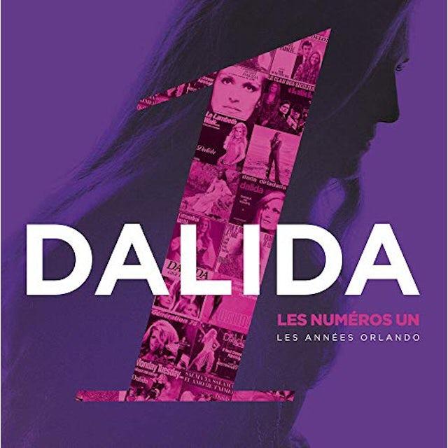 Dalida LES NUMEROS UN: LES ANNEES ORLANDO Vinyl Record