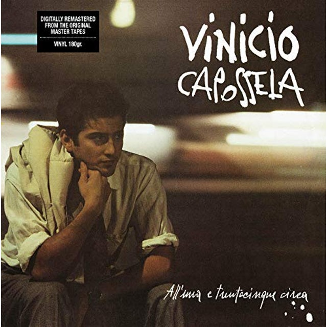 Vinicio Capossela ALL'UNA E TRENTACINQUE CIRCA Vinyl Record