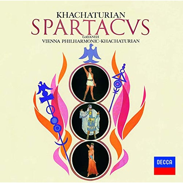 Aram Khachaturian KHACHATURIAN: SPARTACUS / GAYANEH CD