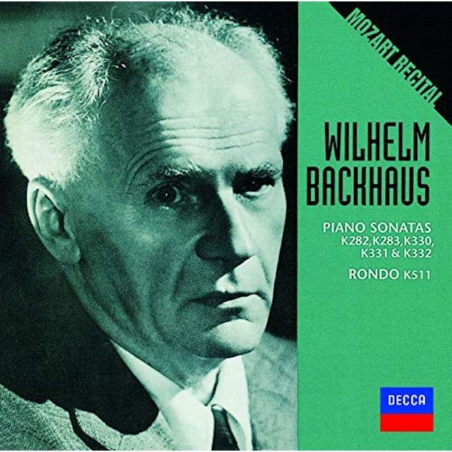 Wilhelm Backhaus BACKHAUS / MOZART RECITAL CD