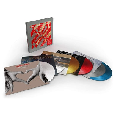 Simple Minds REJUVENATION 2001-2014 - Six Colored Vinyl Record Set
