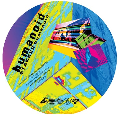 The Future Sound Of London STAKKER HUMANOID Vinyl Record