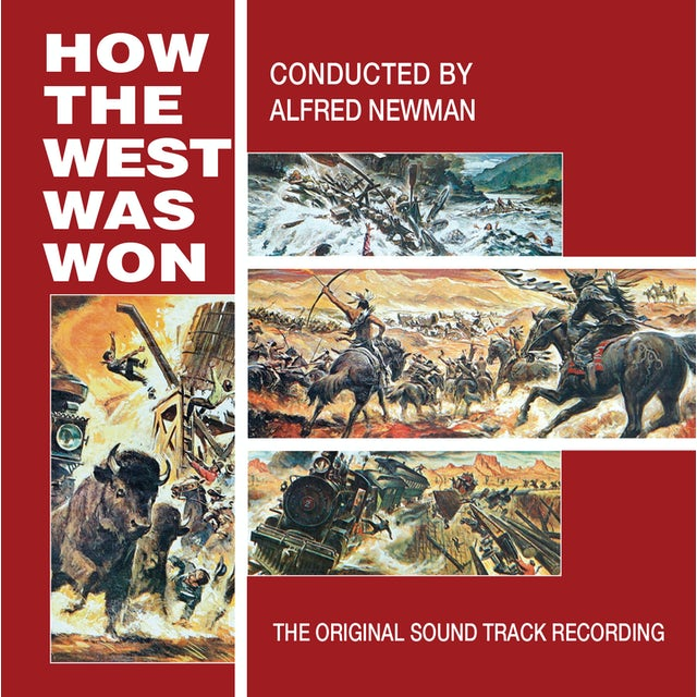 Alfred Newman HOW THE WEST WAS WON - Original Soundtrack CD