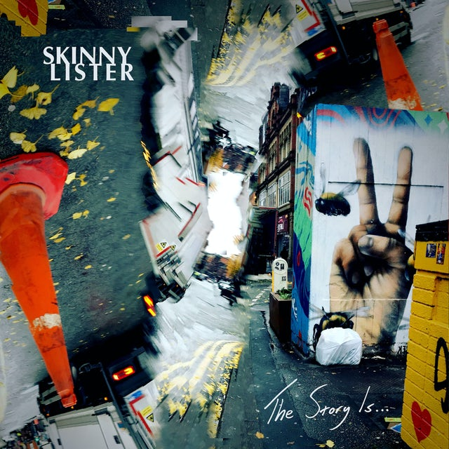 Skinny Lister THE STORY IS... CD