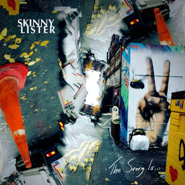 Skinny Lister THE STORY IS... Vinyl Record