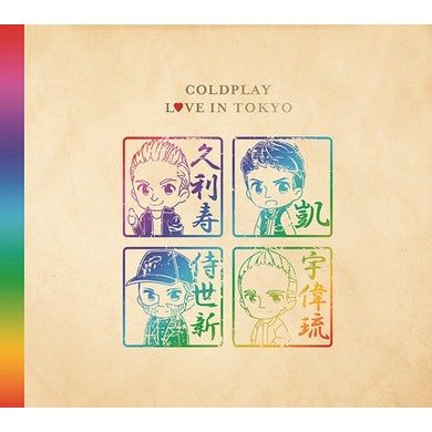 Coldplay LIVE IN TOKYO 2017 CD
