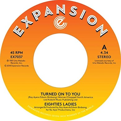TURNED ON TO YOU / LADIES OF THE EIGHTIES Vinyl Record