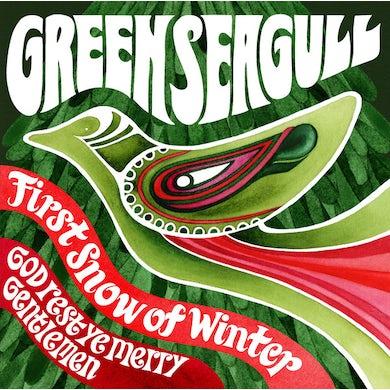 Green Seagull FIRST SNOW OF WINTER/GOD REST YE MERRY GENTLEMEN Vinyl Record