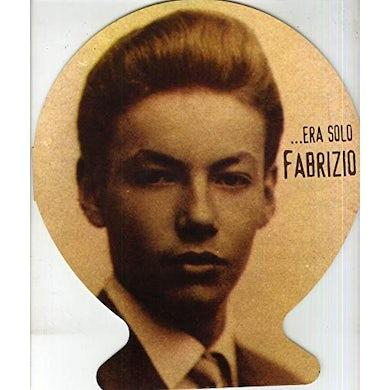 Fabrizio De Andre ERA SOLO FABRIZIO Vinyl Record