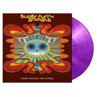 Super Furry Animals RINGS AROUND THE WORLD Vinyl Record