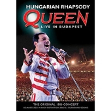 HUNGARIAN RHAPSODY: QUEEN LIVE IN BUDAPEST DVD
