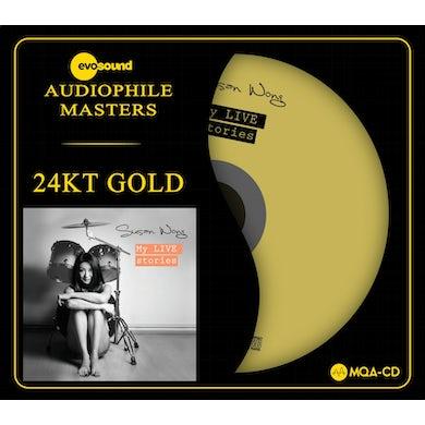Susan Wong MY LIVE STORIES (MQA CD - 24KT GOLD) CD