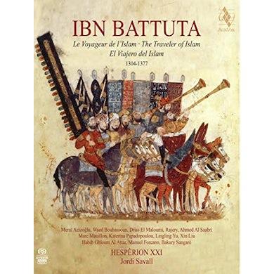 Jordi Savall IBN BATTUTA - THE TRAVELER OF ISLAM Super Audio CD