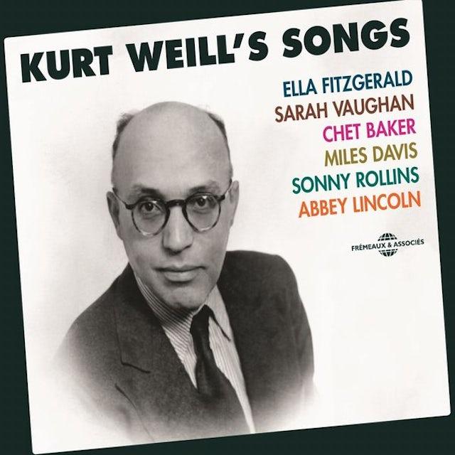 KURT WEILL'S SONGS CD