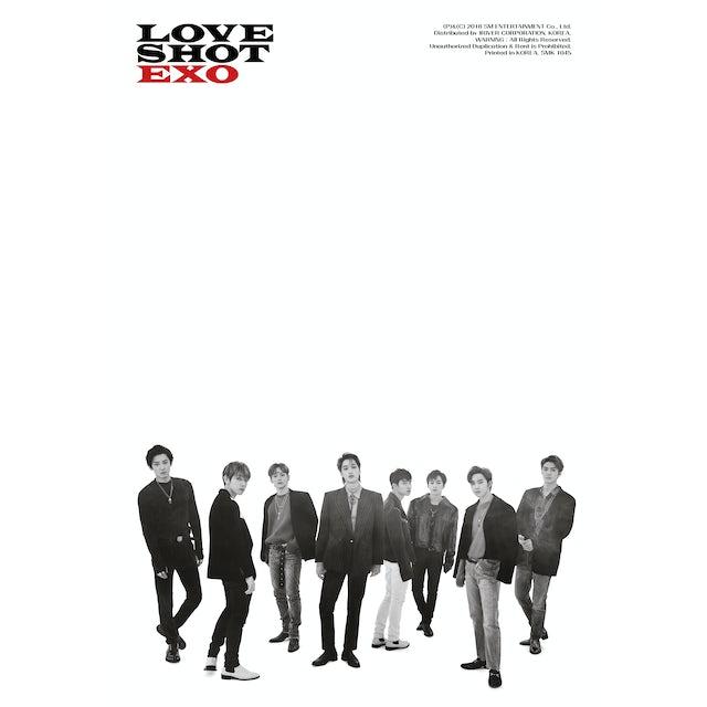 EXO THE 5TH ALBUM REPACKAGE 'LOVE SHOT' CD