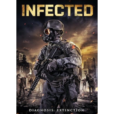 INFECTED DVD