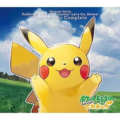 Game Music NINTENDO SWITCH POKEMON LET'S GO! PIKACHU.LET'S GO CD