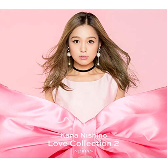 Kana Nishino LOVE COLLECTION 2 (PINK VERSION) CD
