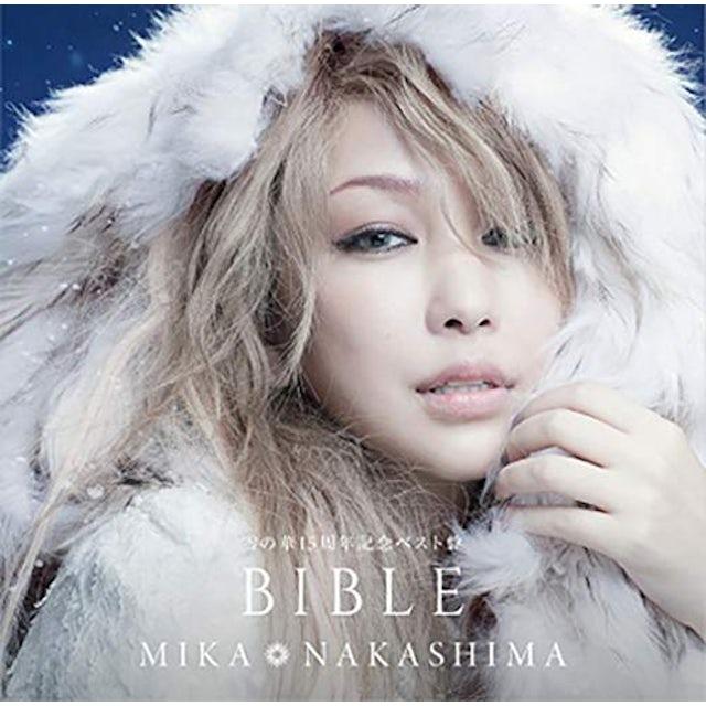 Mika Nakashima YUKI NO HANA 15TH ANNIVERSARY BIBLE AN BIBLE CD