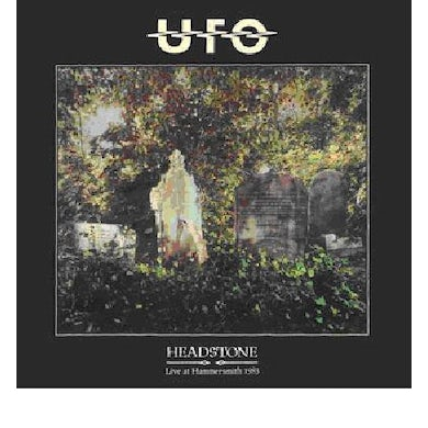 Ufo HEADSTONE (LIVE AT HAMMERSMITH ODEON 1983) CD