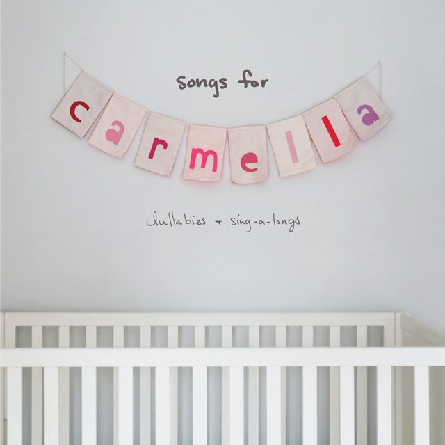 Christina Perri SONGS FOR CARMELLA: LULLABIES & SING-A-LONGS CD