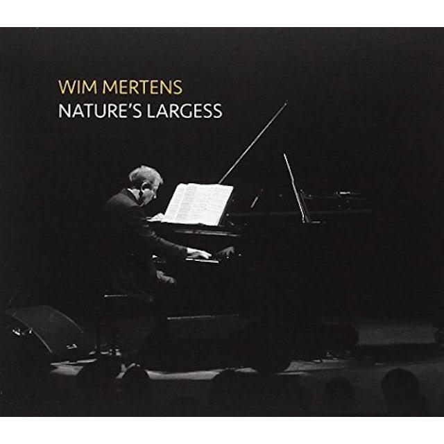 Wim Mertens NATURE'S LARGESS CD