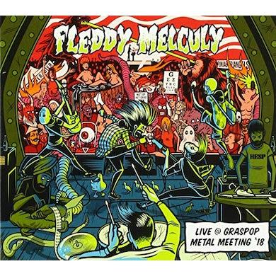 Fleddy Melculy LIVE AT GRASPOP METAL MEETING 18 CD