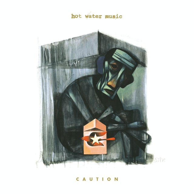 Hot Water Music CAUTION (CLEAR VINYL) Vinyl Record