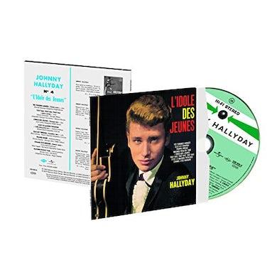 Johnny Hallyday L'IDOLE DES JEUNES CD