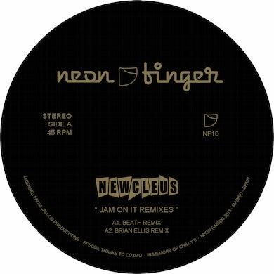 Newcleus JAM ON IT REMIXES Vinyl Record