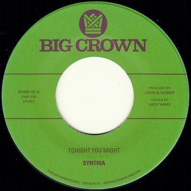Synthia TONIGHT YOU MIGHT / DISSOLVE Vinyl Record