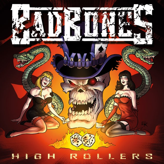 Bad Bones HIGH ROLLERS CD