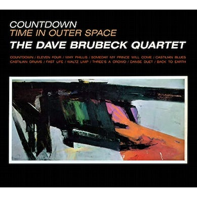 Dave Quartet Brubeck COUNTDOWN TIME IN OUTER SPACE CD