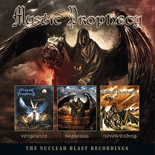 Mystic Prophecy NUCLEAR BLAST RECORDINGS CD