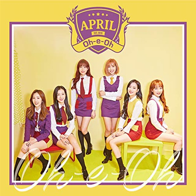 April OH-E-OH (VERSION A) CD