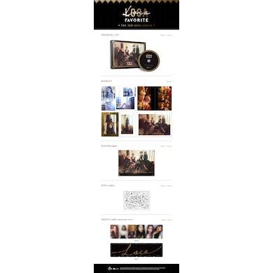 favorite 3RD MINI ALBUM: LOCA CD