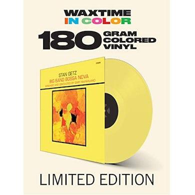 Stan Getz BIG BAND BOSSA NOVA Vinyl Record - Colored Vinyl, 180 Gram Pressing, Yellow Vinyl, Spain Release