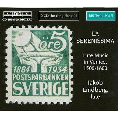 Jakob Lindberg LA SERENISSIMA: LUTE MUSIC IN CD