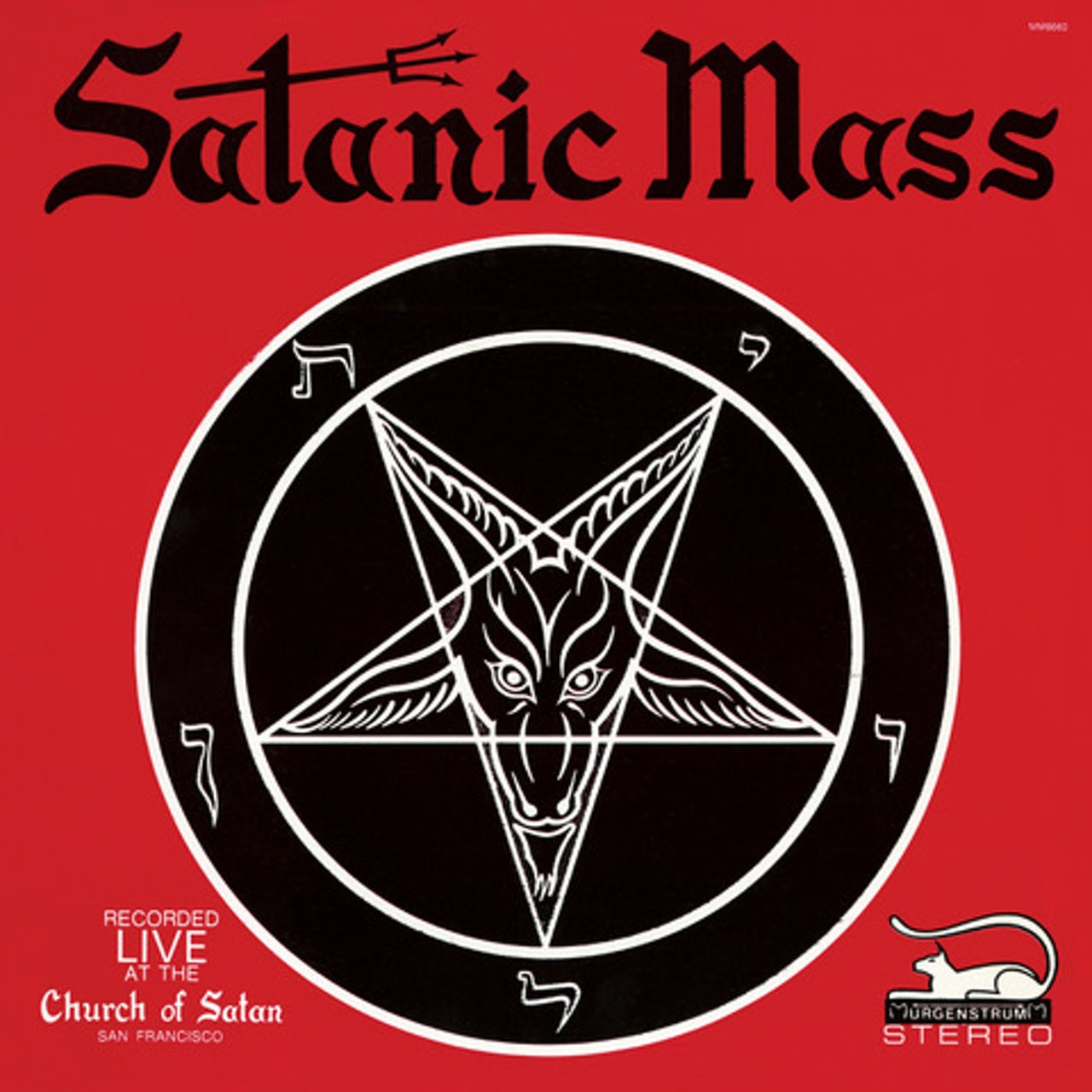 Anton LaVey SATANIC MASS CD