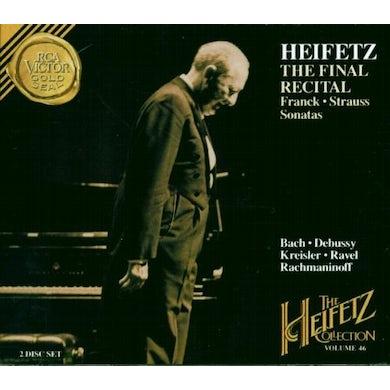 Jascha Heifetz HEIFETZ COLLECTION VOL 46 CD
