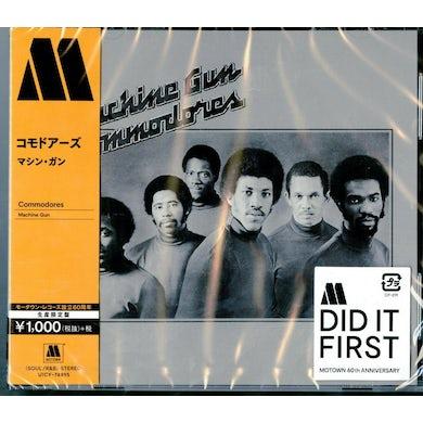 Commodores MACHINE GUN CD