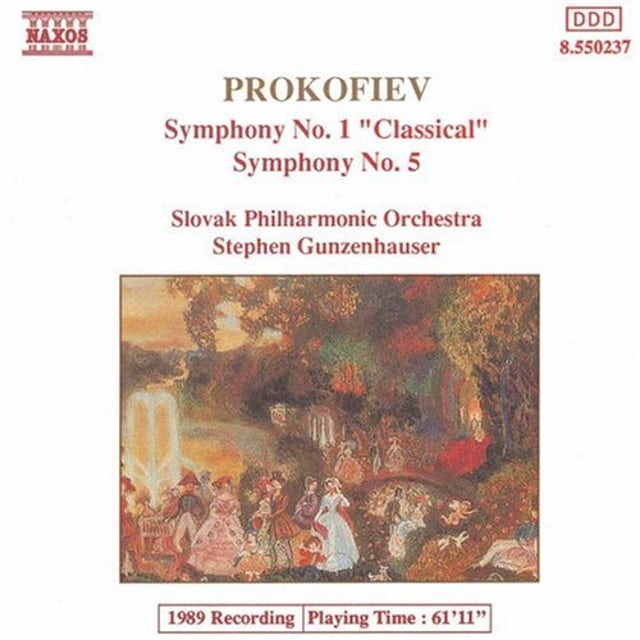 Prokofiev SYMS NOS 1 & 5 CD