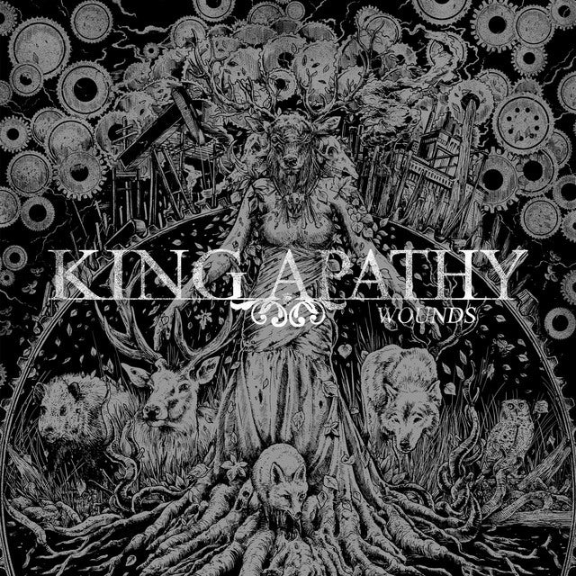 King Apathy WOUNDS Vinyl Record