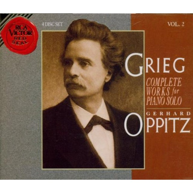 Gerhard Oppitz COMPLETE WORKS FOR PIANO CD