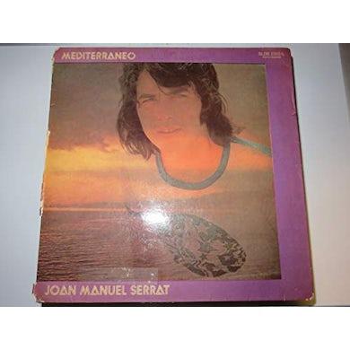 Joan Manuel Serrat MEDITERRANEO Vinyl Record