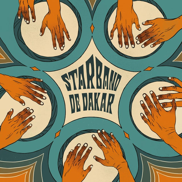 Star Band de Dakar PSICODELIA AFRO-CUBANA DE SENEGAL Vinyl Record