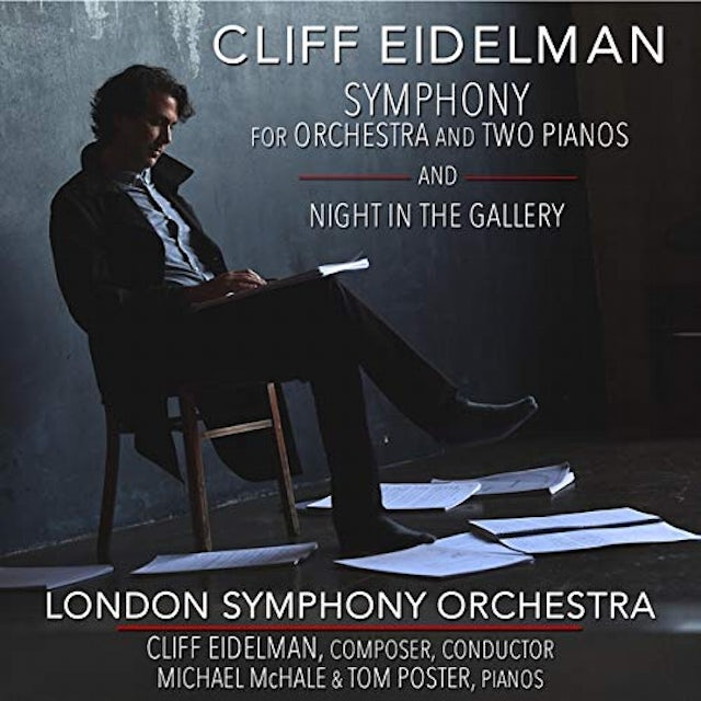 Cliff Eidelman SYM FOR ORCHESTRA & TWO PIANOS & NIGHT IN GALLERY CD