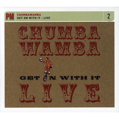 Chumbawamba GET ON WITH IT: LIVE CD